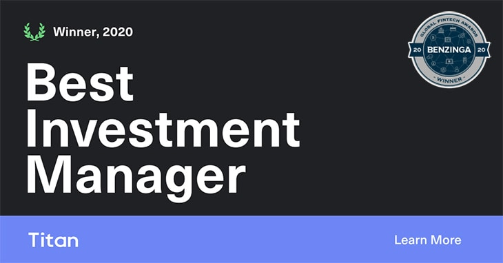 Titan Best Investment Manager 2020