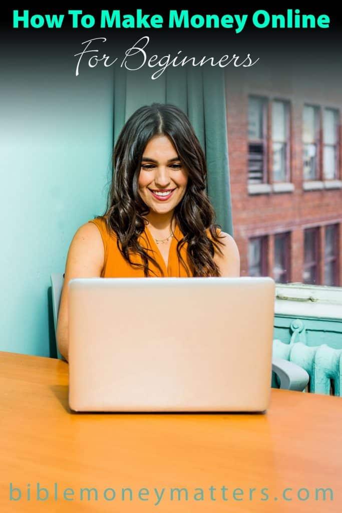 making money online for beginners