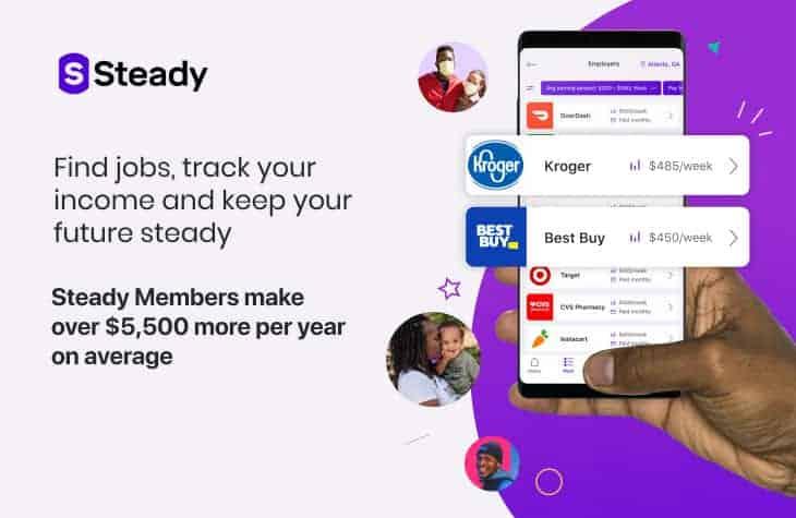 Steady app can help you find fun jobs