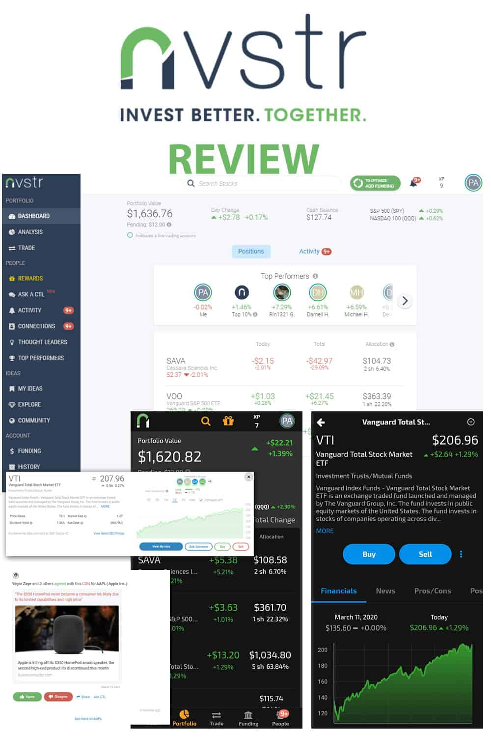 Nvstr Review: Low-Cost Brokerage With Up To $1000 In Cash And Free Stocks!