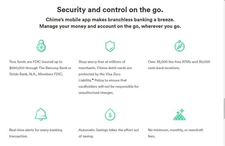 Chime app security and control