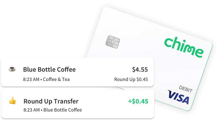 Chime app automated savings program