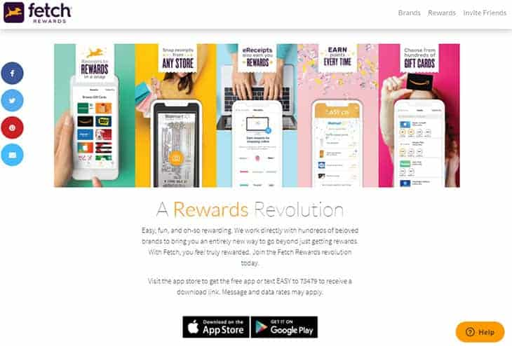 Fetch Rewards free money app