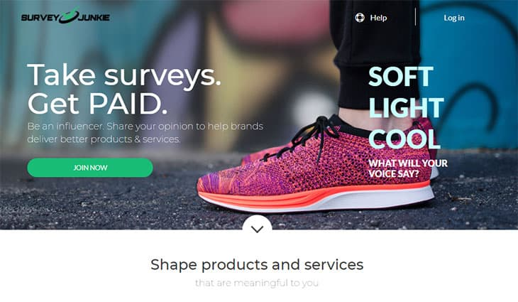 Free money apps Survey Junkie