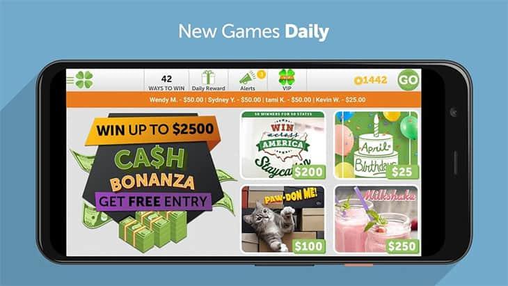 Lucktastic free money app