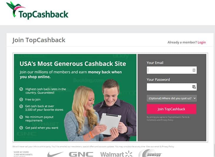 Top Cashback free money app