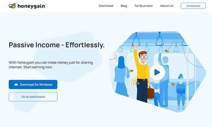 Honeygain free money app