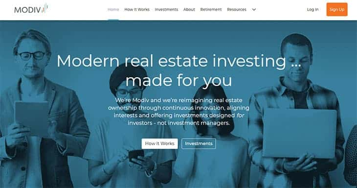 Modiv review - real estate investing