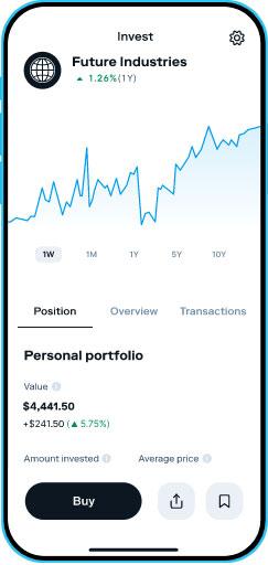 Stash Invest Investment portfolios