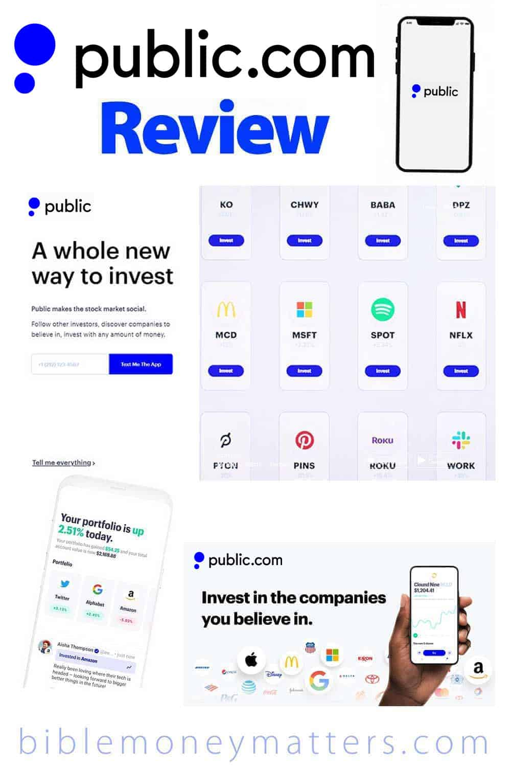 Public App Review: Free Stock Market App With Fractional Shares