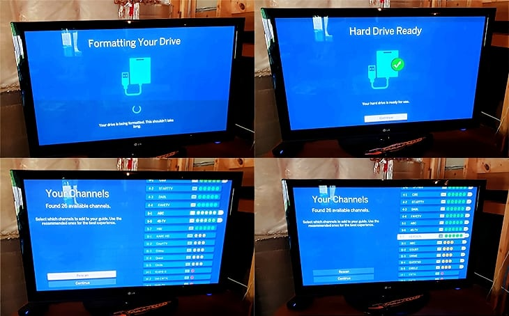 Tablo Dual HDMI DVR setup process part 2