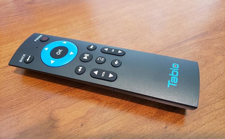 Tablo Dual HDMI DVR remote control