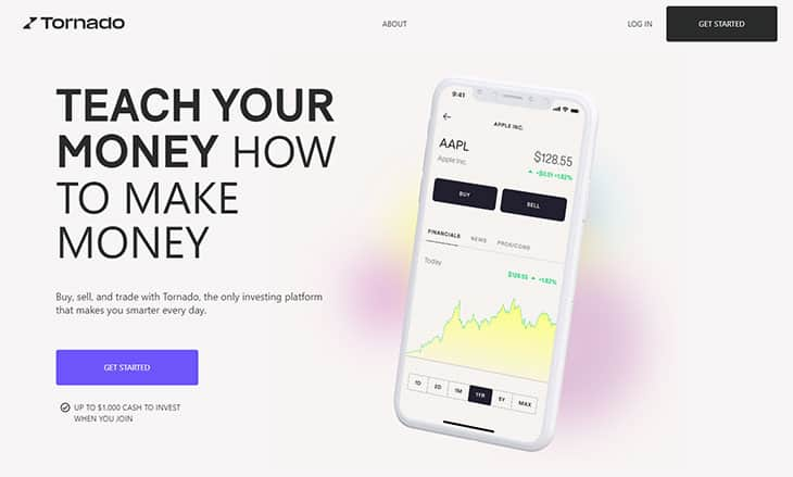 Tornado Investing App Review