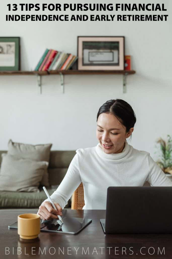 tips to pursue financial independence to retire early