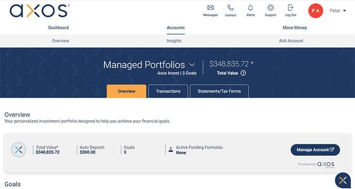 Axos Invest Managed Portfolios