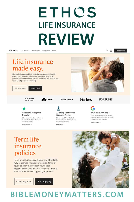 Ethos Term Life Insurance Review