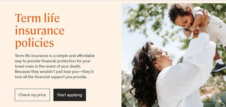 Ethos term life insurance policies